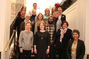 Study tour group photo